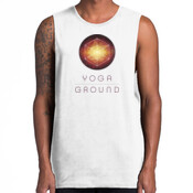 Mens White/Colour - AS Colour BARNARD TANK TEE