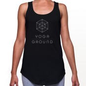 Women's - Black / white logo - AS Colour DASH SINGLET