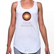 Women's - White / colour logo - AS Colour DASH SINGLET