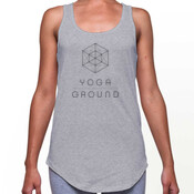Women's - Grey / black logo / AS Colour DASH TANK